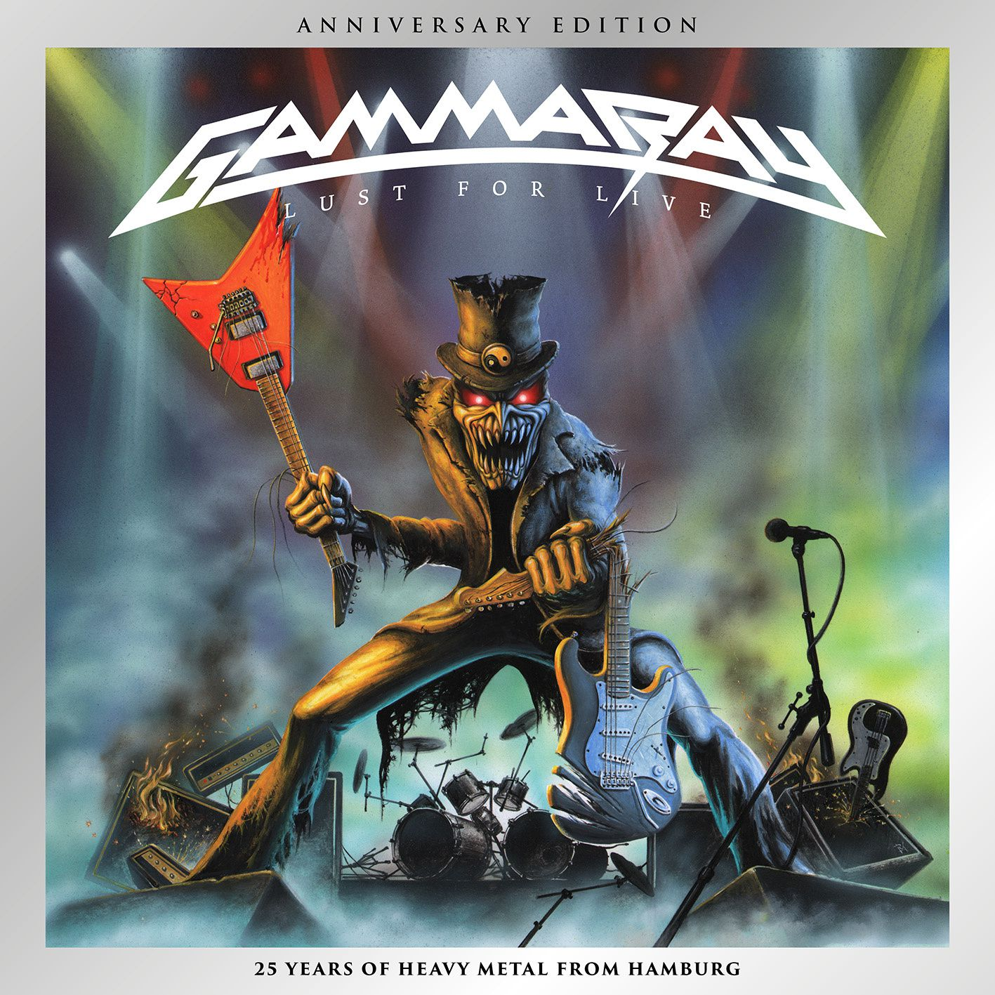 CD review GAMMA RAY &quot&#x3B;Lust For Live&quot&#x3B; (Anniversary Edition)