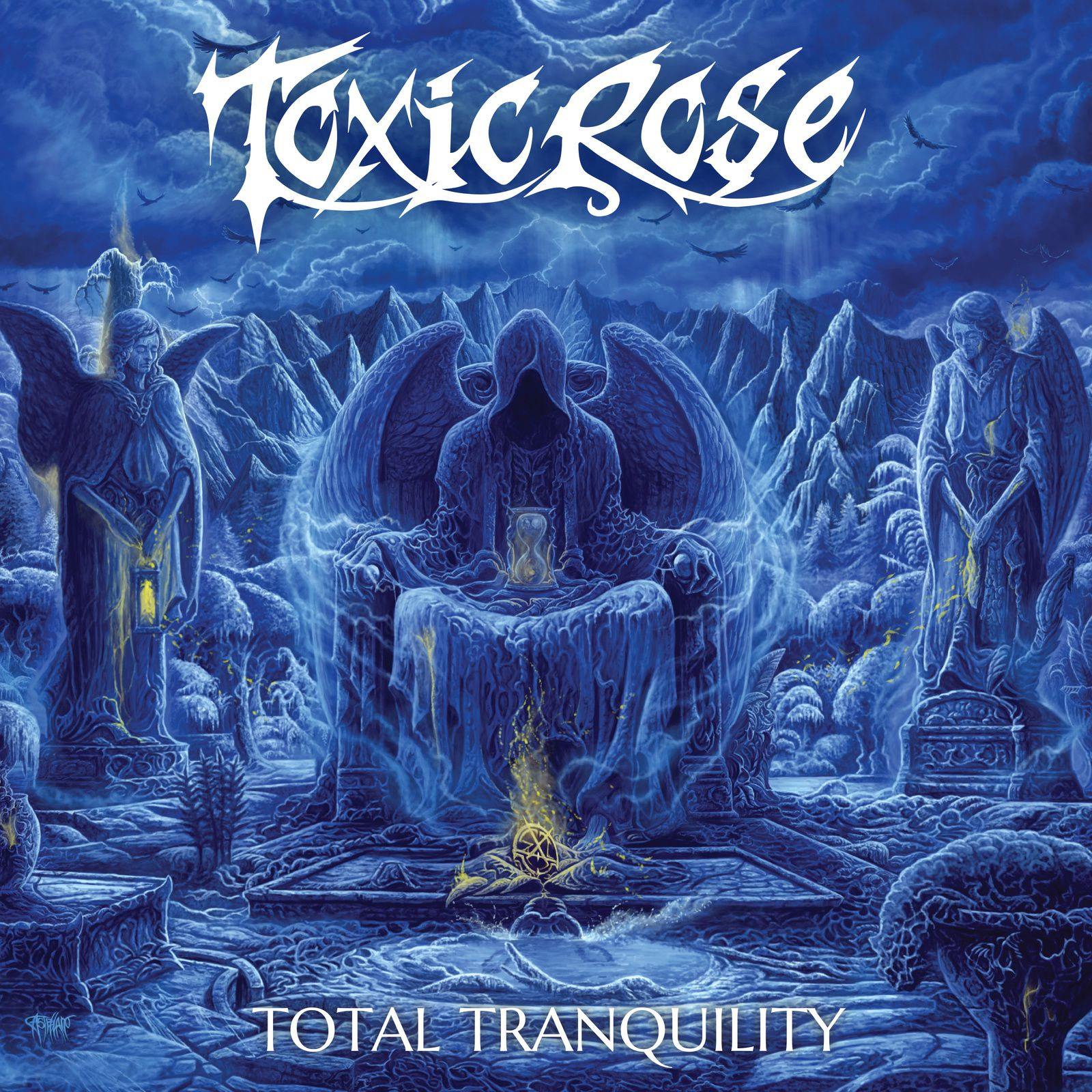 CD review TOXICROSE &quot&#x3B;Total Tranquility&quot&#x3B;