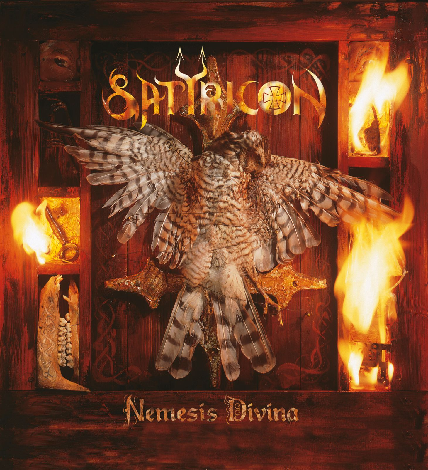 CD review SATYRICON &quot&#x3B;Nemesis Divina&quot&#x3B; (re-issue)