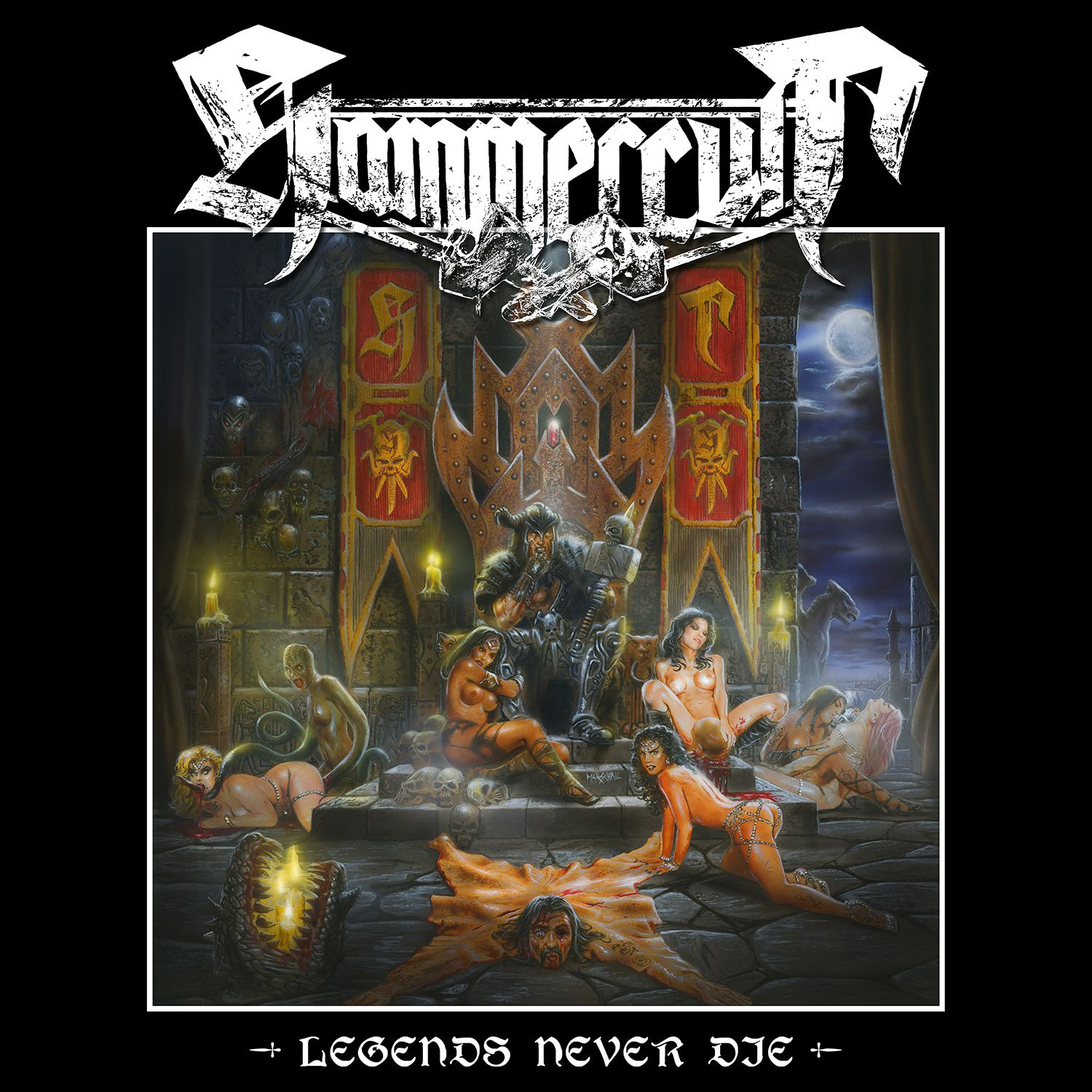 CD review HAMMERCULT &quot&#x3B;Legends Never Die&quot&#x3B;