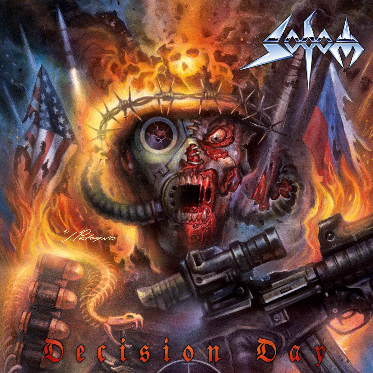 SODOM's new album's called &quot&#x3B;Decision Day&quot&#x3B;
