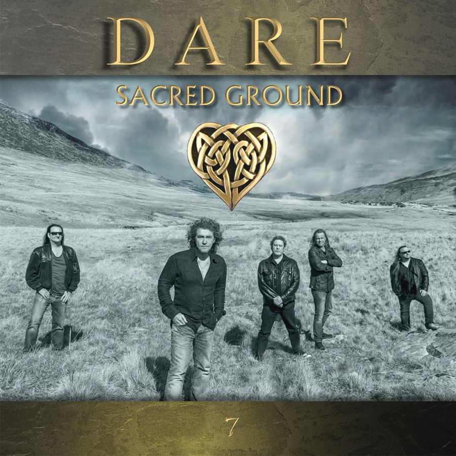 CD review DARE &quot&#x3B;Sacred Ground&quot&#x3B;