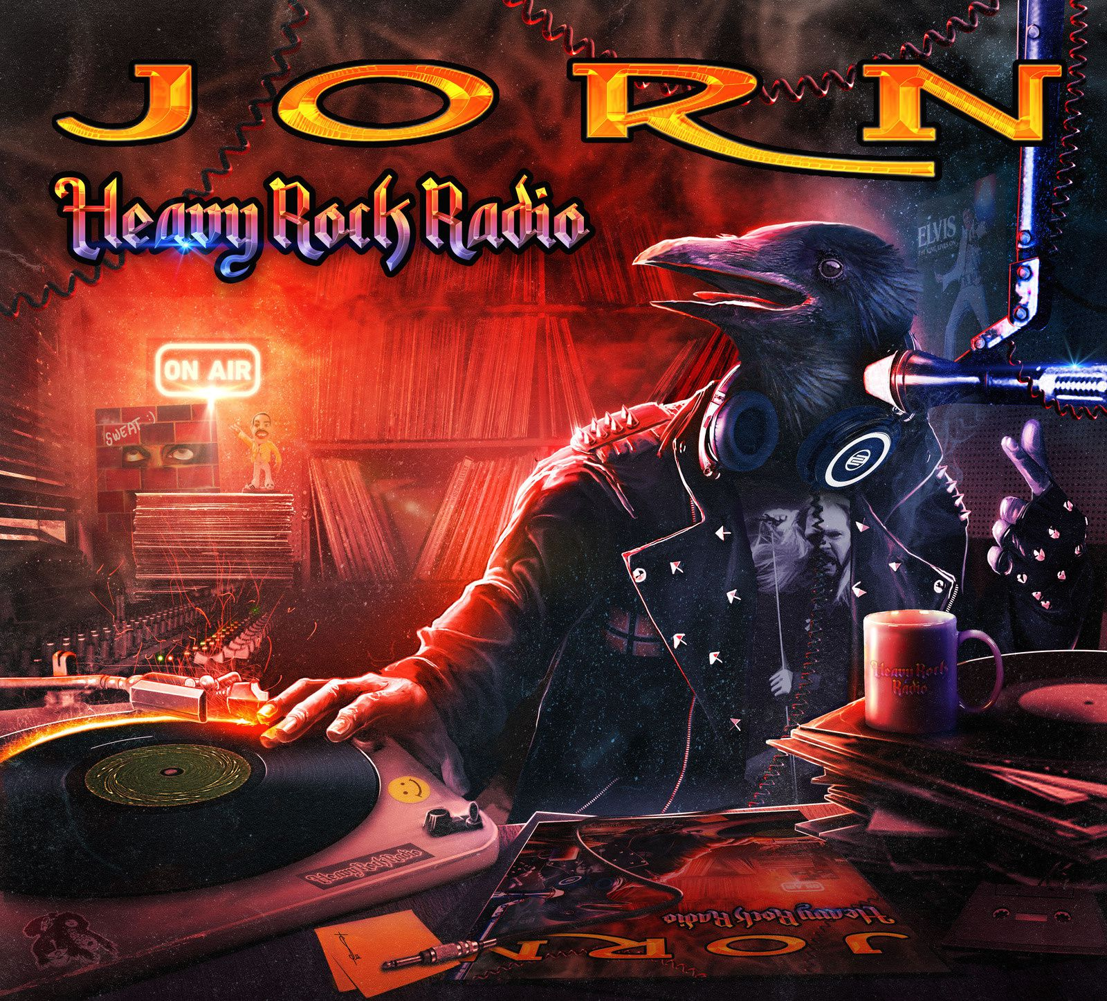 CD review JORN &quot&#x3B;Heavy Rock Radio&quot&#x3B;