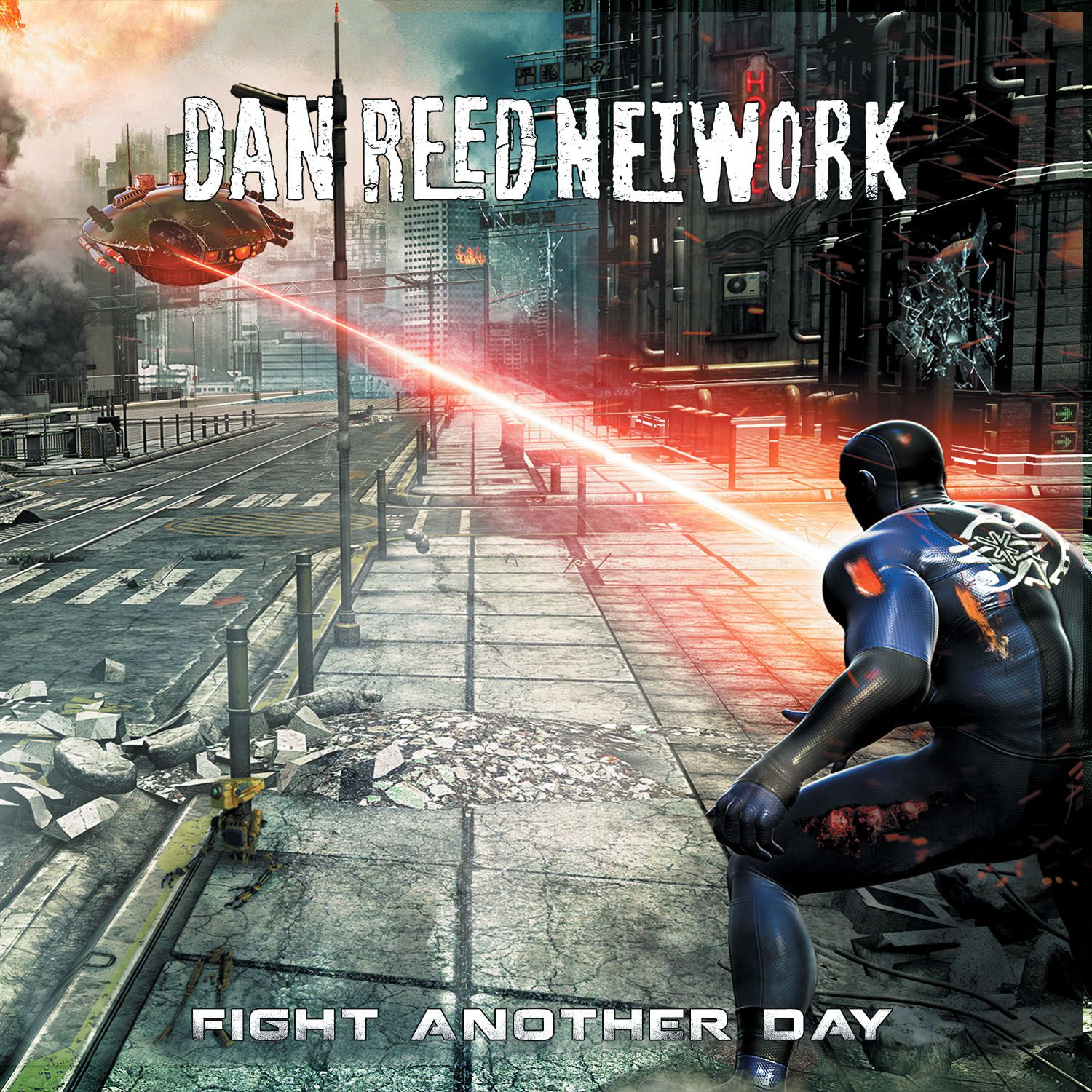 CD review DAN REED NETWORK &quot&#x3B;Fight Another Day&quot&#x3B;