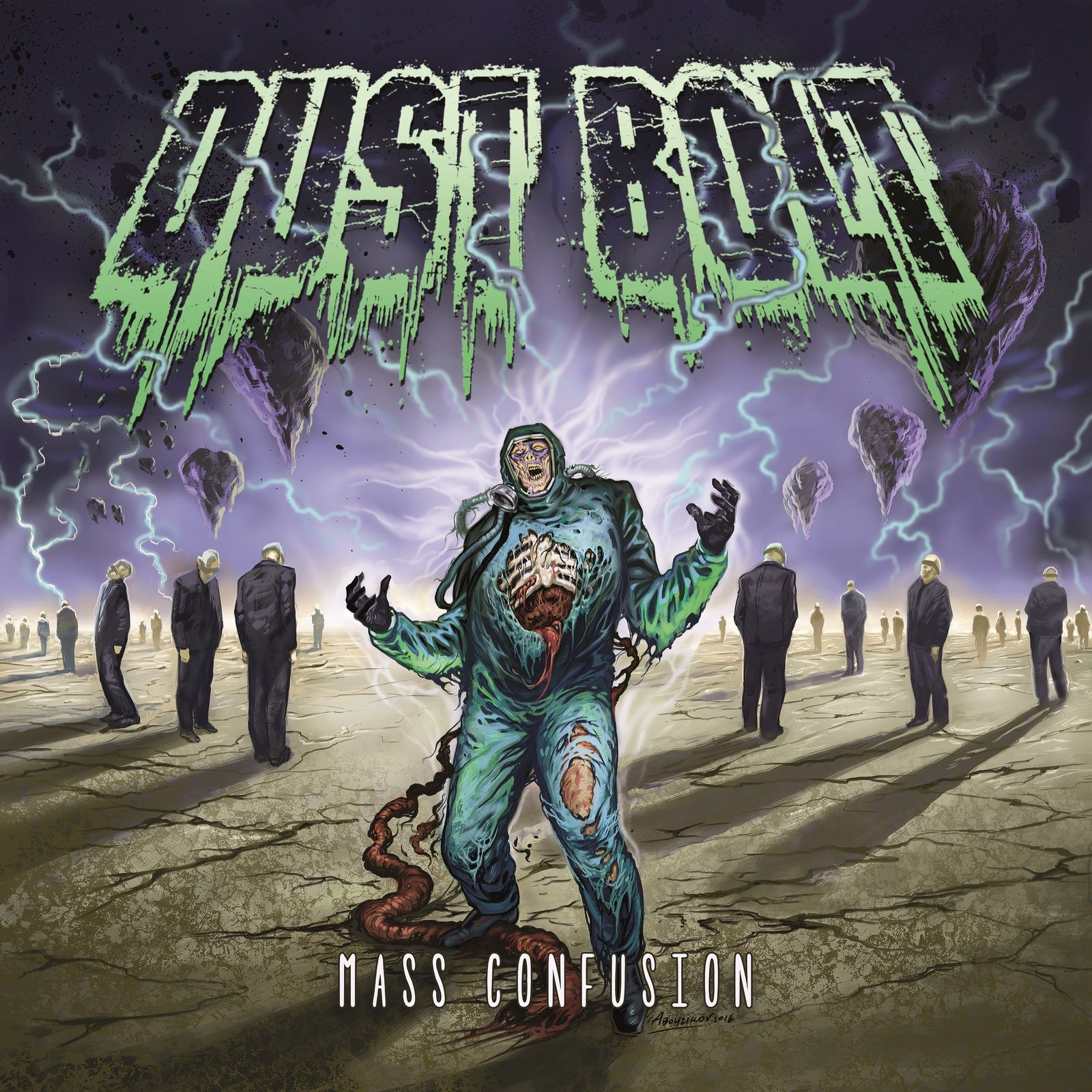 CD review DUST BOLT &quot&#x3B;Mass Confusion&quot&#x3B;