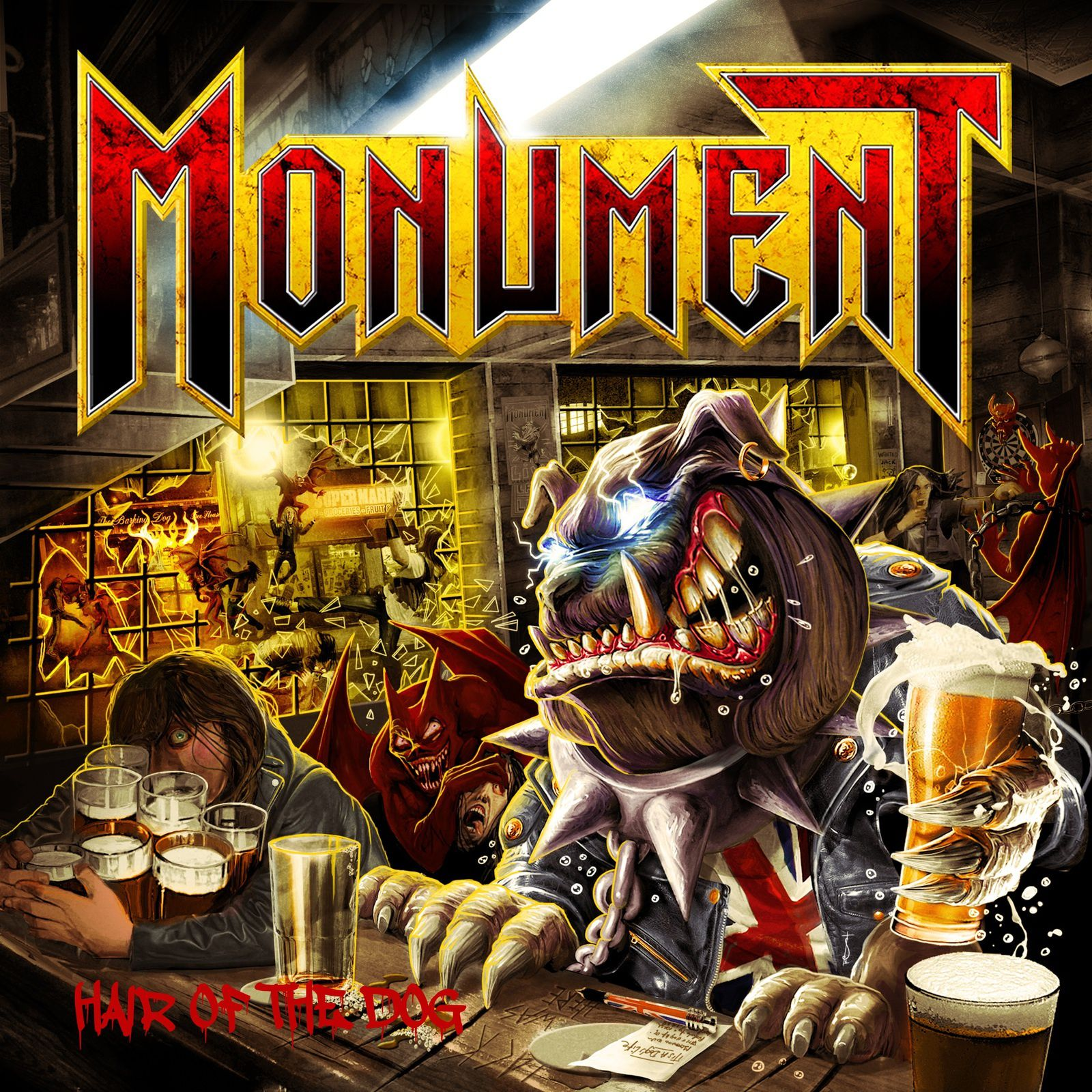 CD review MONUMENT &quot&#x3B;Hair of the Dog&quot&#x3B;