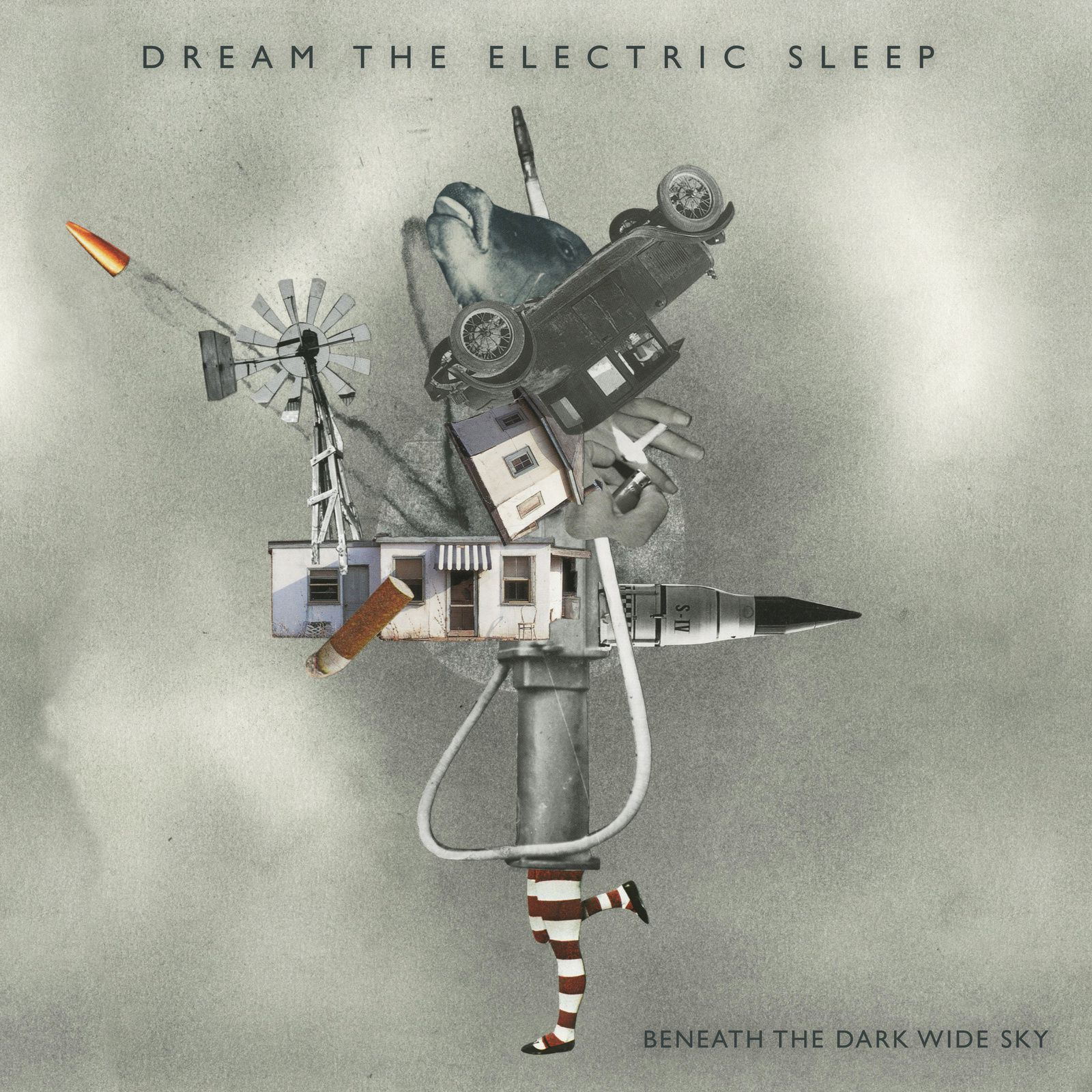 CD review DREAM THE ELECTRIC SLEEP &quot&#x3B;Beneath the Dark Wide Sky&quot&#x3B;
