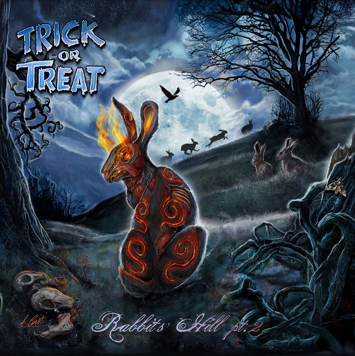 CD review TRICK OR TREAT &quot&#x3B;Rabbits' Hill pt.2&quot&#x3B;