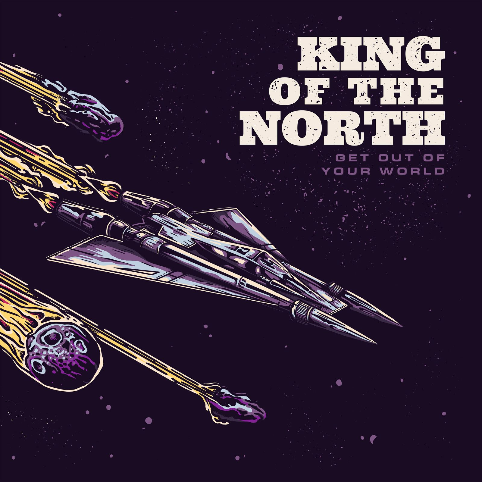 CD review KING OF THE NORTH &quot&#x3B;Get Out of your World&quot&#x3B;
