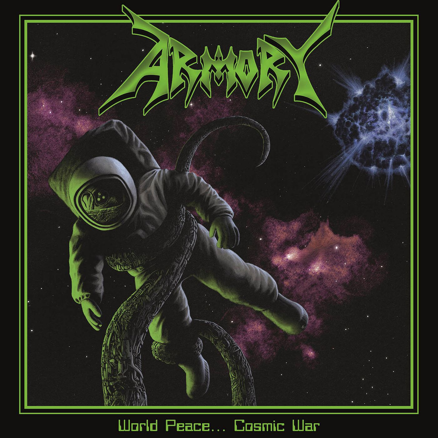 CD review ARMORY &quot&#x3B;World Peace ... Cosmic War&quot&#x3B;