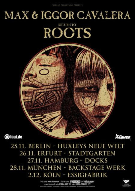 Max and Igor Cavalera will be on tour with &quot&#x3B;Roots&quot&#x3B;