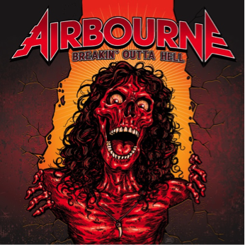 AIRBORNE published a lyric video for &quot&#x3B;Breakin' Outta Hell&quot&#x3B;