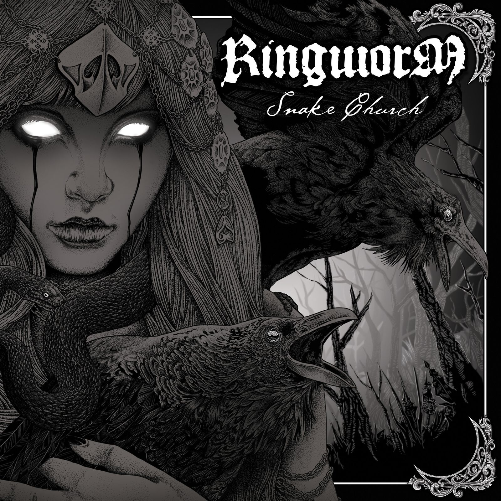 CD review RINGWORM &quot&#x3B;Snake Church&quot&#x3B;