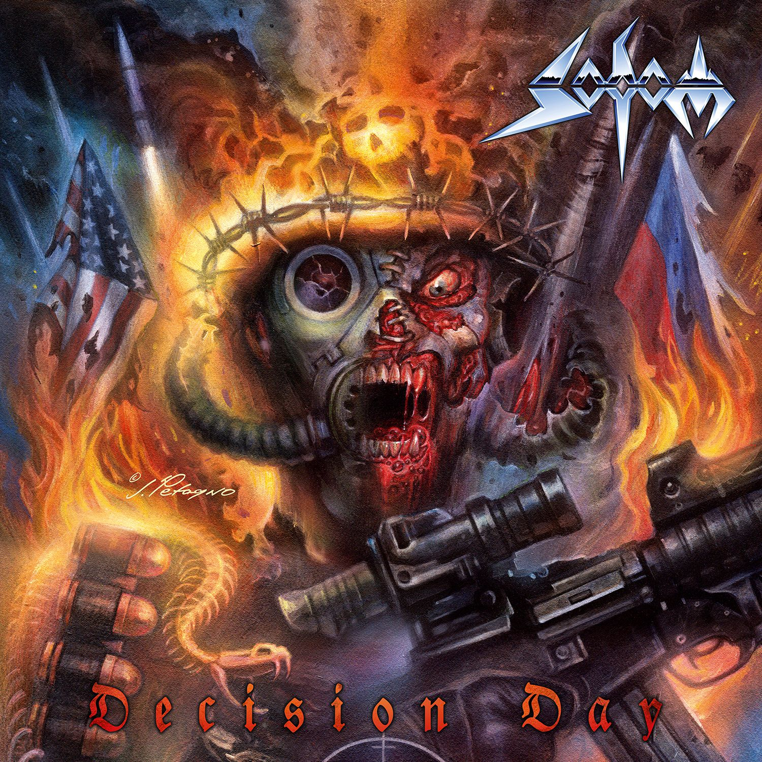 CD review SODOM &quot&#x3B;Decision Day&quot&#x3B;