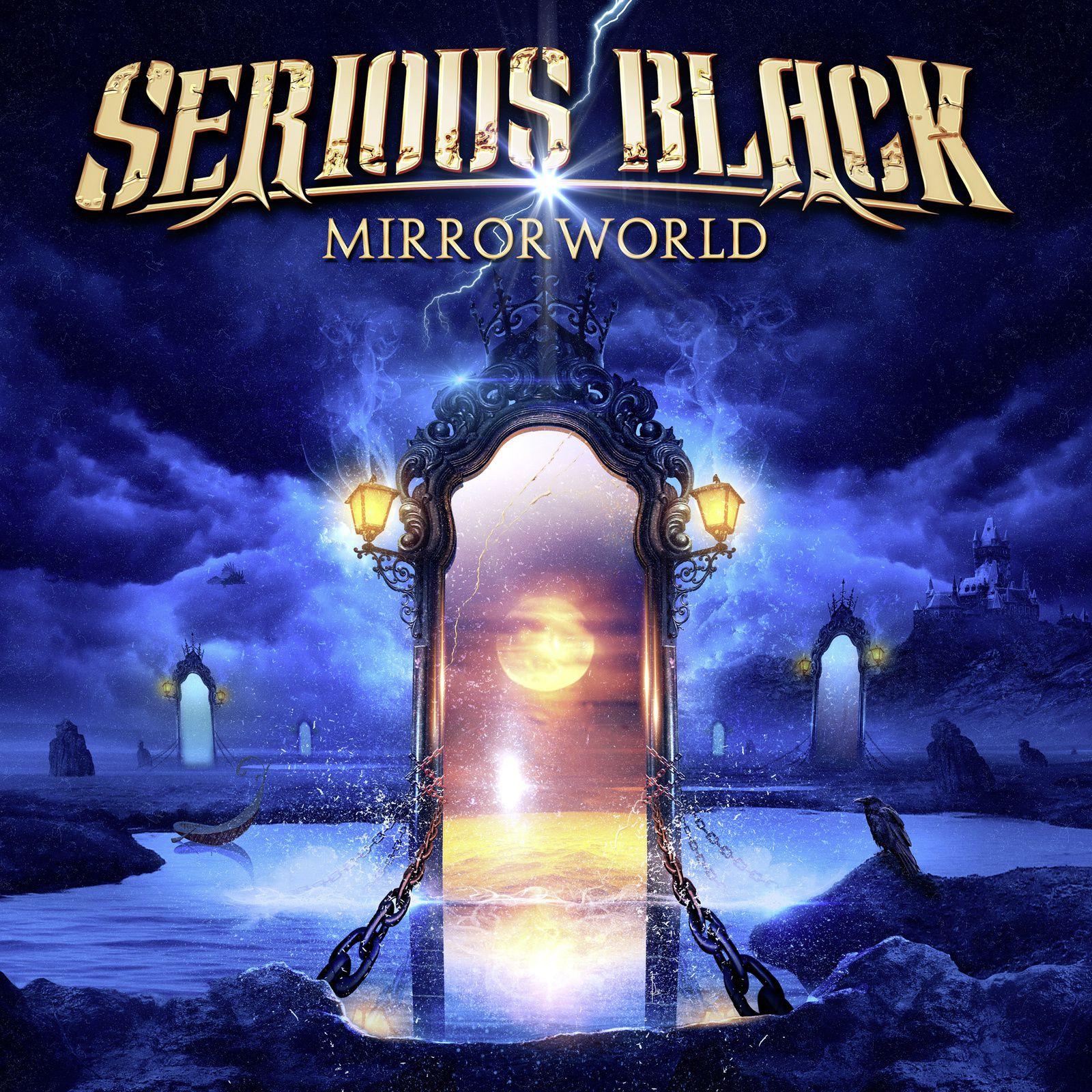 CD review SERIOUS BLACK &quot&#x3B;Mirrorworld&quot&#x3B;