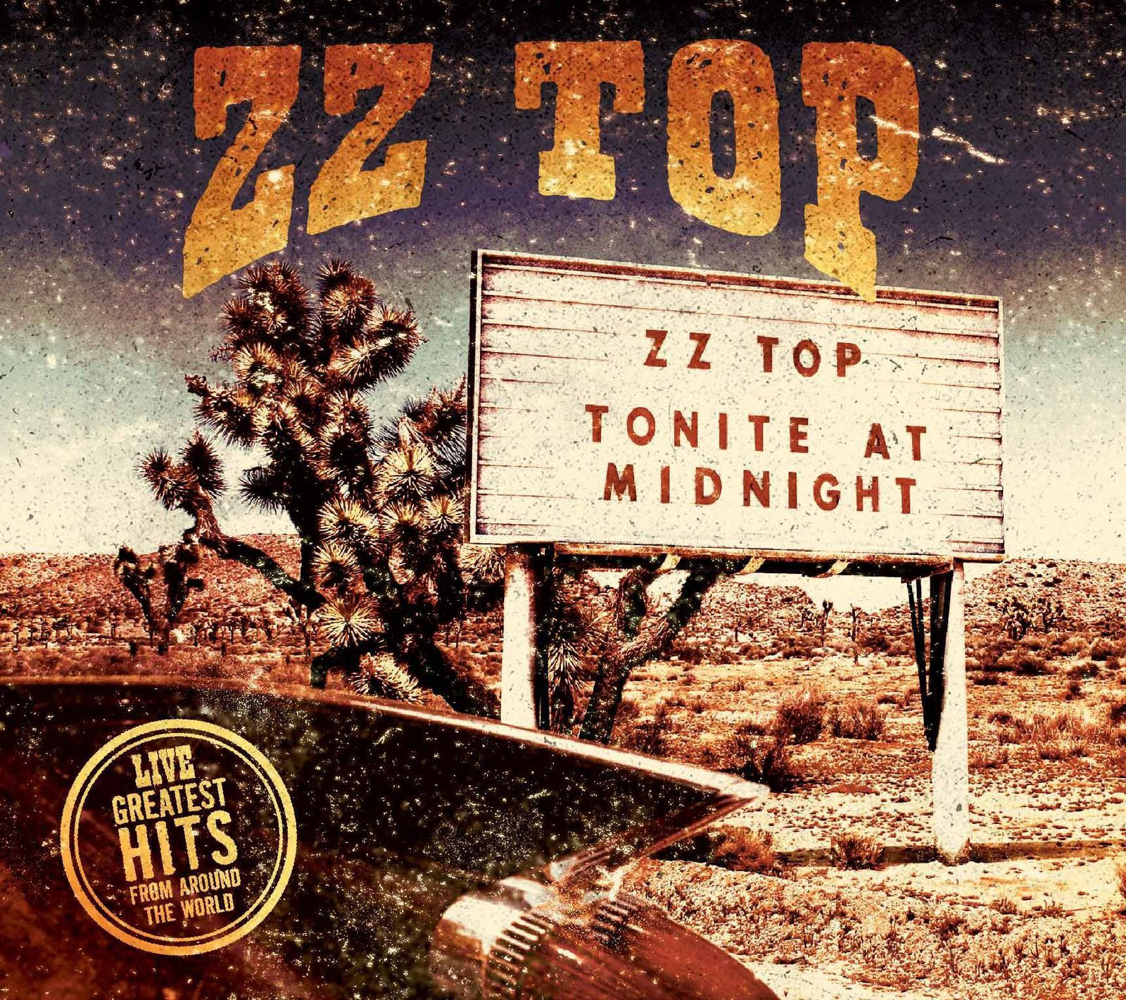 CD review ZZ TOP &quot&#x3B;Live! Greatest Hits From Around the World&quot&#x3B;