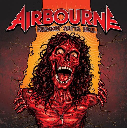 CD review AIRBOURNE &quot&#x3B;Breakin' Outta Hell&quot&#x3B;