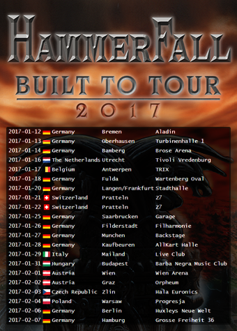 &quot&#x3B;The Sacred Vow&quot&#x3B; - HAMMERFALL's new single