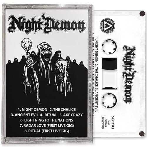 TAPE review NIGHT DEMON &quot&#x3B;Night Demon&quot&#x3B;