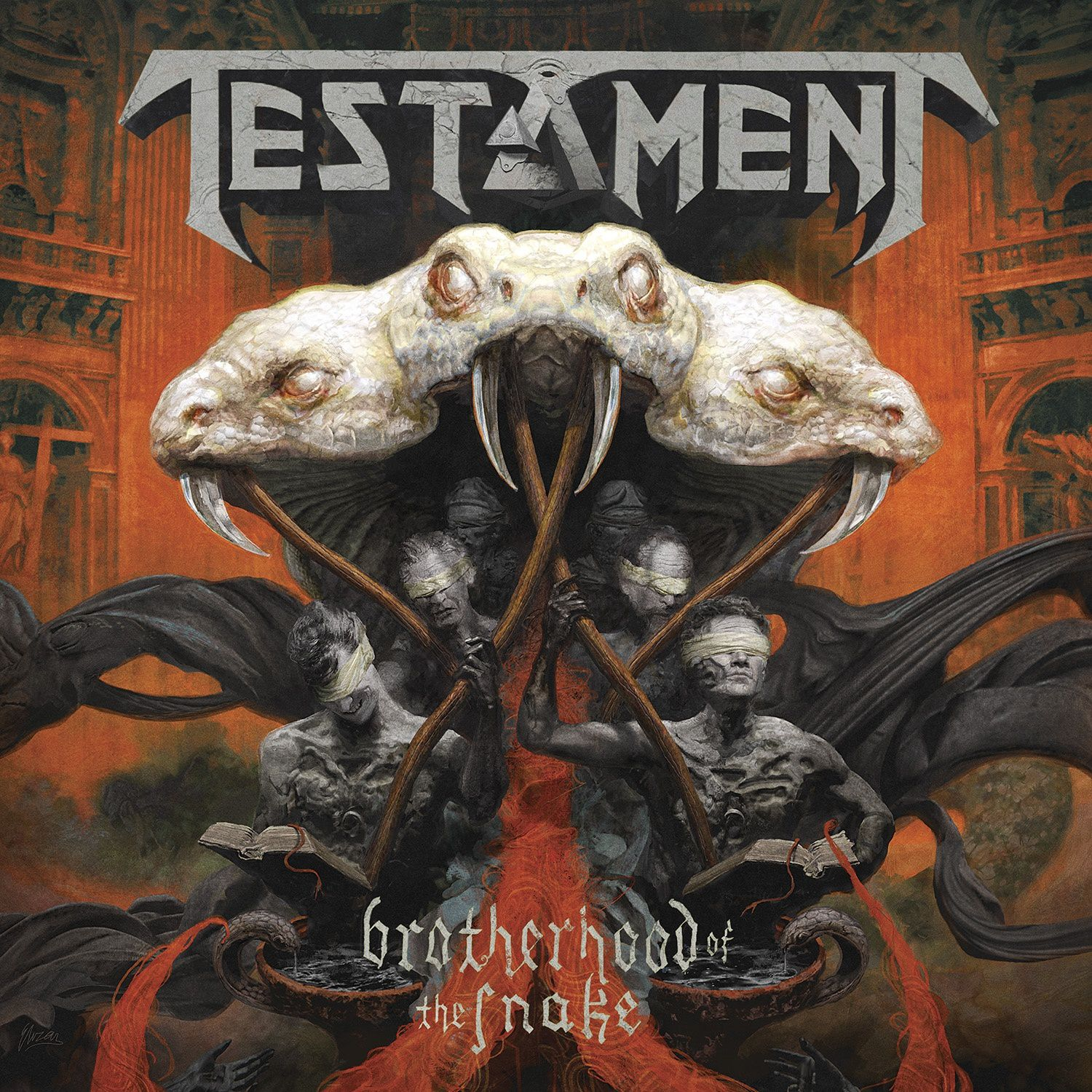 CD review TESTAMENT &quot&#x3B;Brotherhood of the Snake&quot&#x3B;