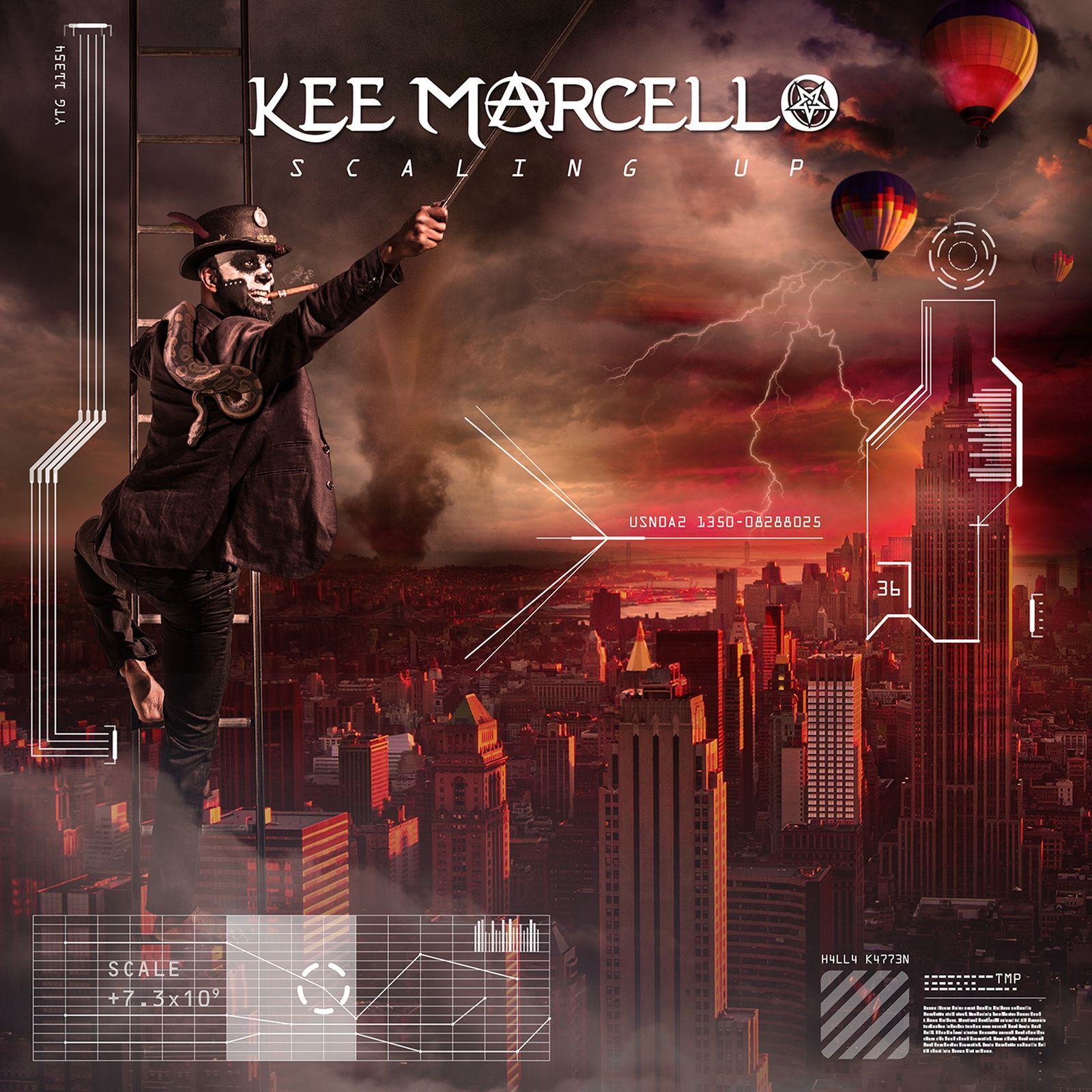 CD review KEE MARCELLO &quot&#x3B;Scaling Up&quot&#x3B;