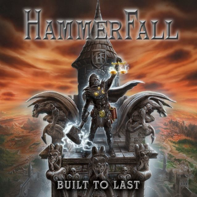 CD review HAMMERFALL &quot&#x3B;Built to Last&quot&#x3B;
