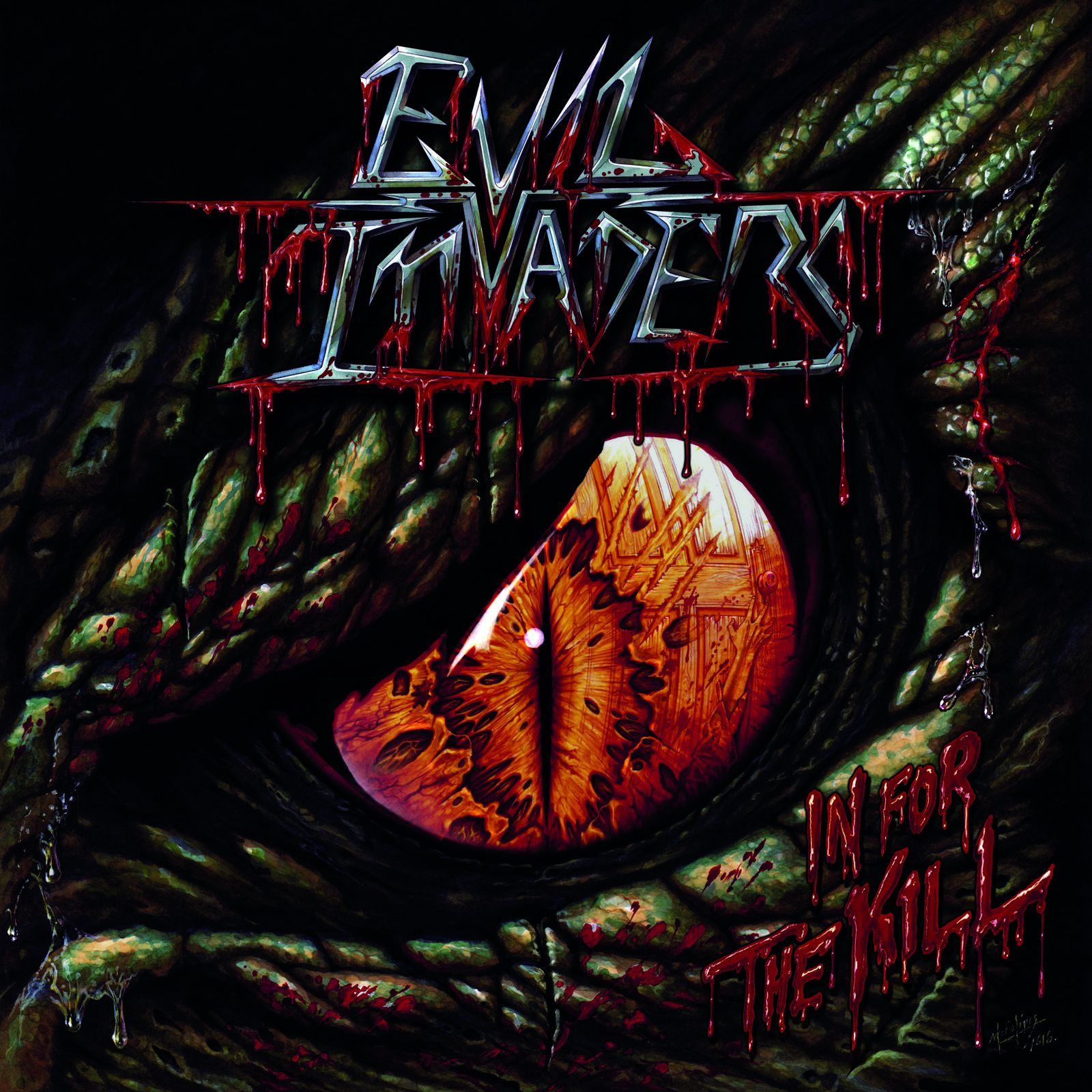 CD review EVIL INVADERS &quot&#x3B;In for the Kill&quot&#x3B; EP
