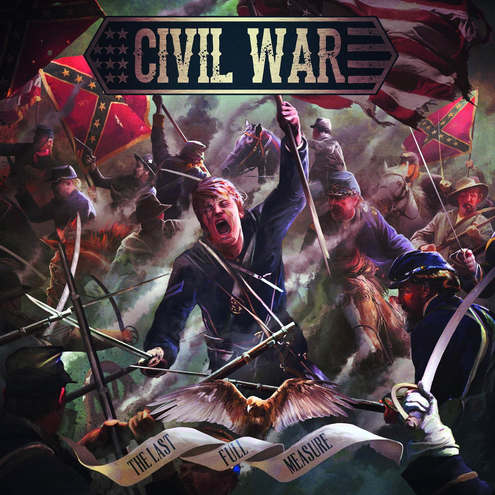Civil war - The last full measure (English Lyrics)