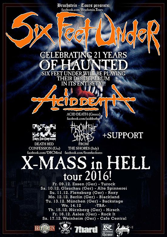 SIX FEET UNDER celebrates 21 years of &quot&#x3B;Haunted&quot&#x3B;
