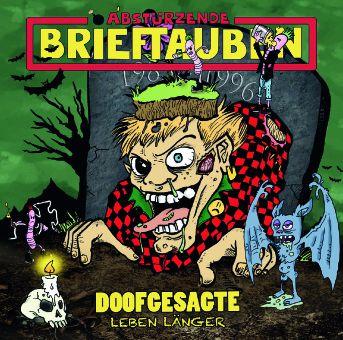 CD review ABSTUERZENDE BRIEFTAUBEN &quot&#x3B;Doofgesagte leben laenger&quot&#x3B;