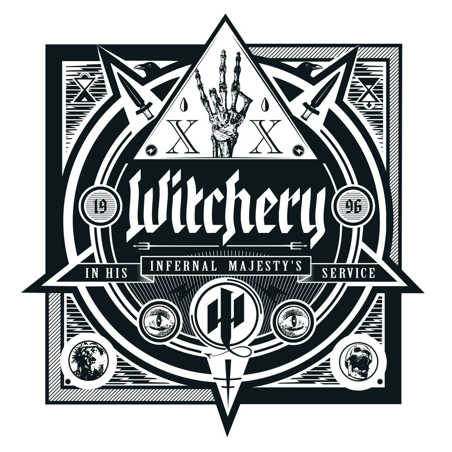 "CD review WITCHERY ""In His Infernal Majesty's Service"""
