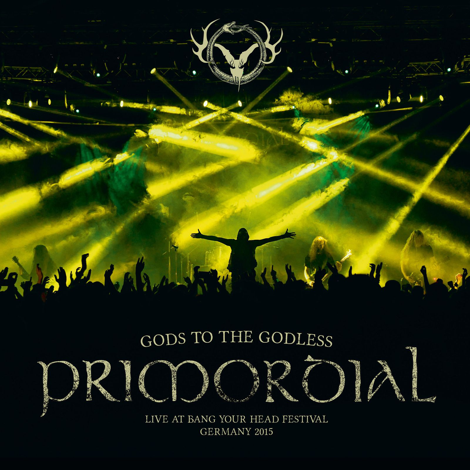 CD review PRIMORDIAL &quot&#x3B;Gods to the Godless - Live at BYH 2015&quot&#x3B;