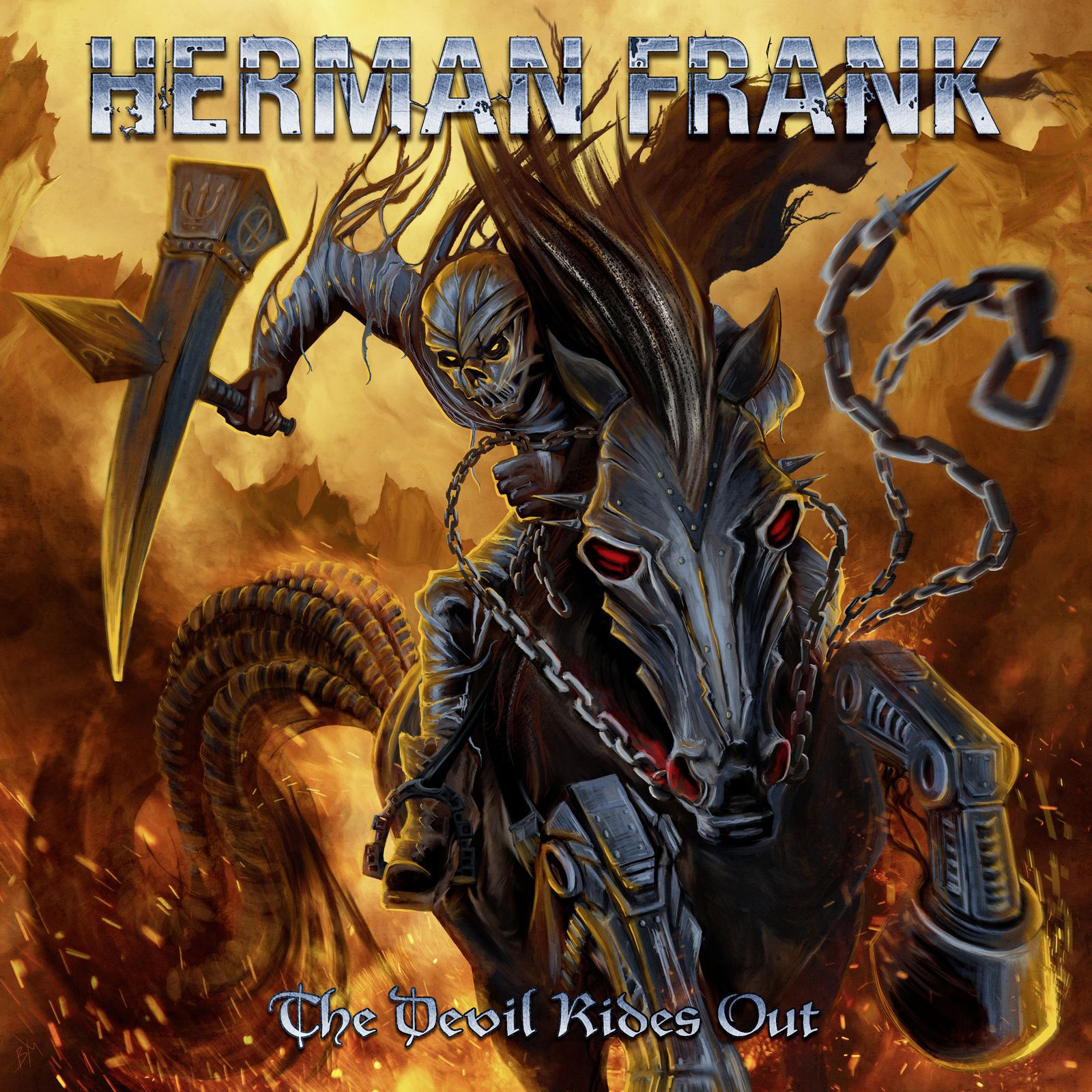 "CD review Herman Frank ""The Devil Rides Out"""