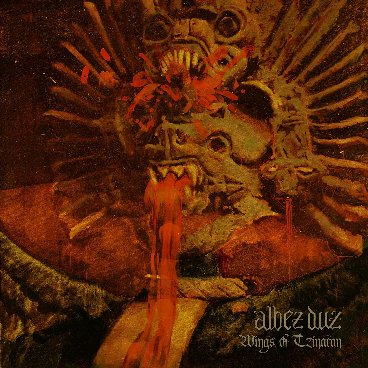 CD review ALBEZ DUZ &quot&#x3B;Wings of Tzinacan&quot&#x3B;