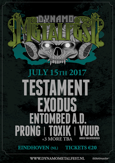 New bands for next years DYNAMO METALFEST are confirmed