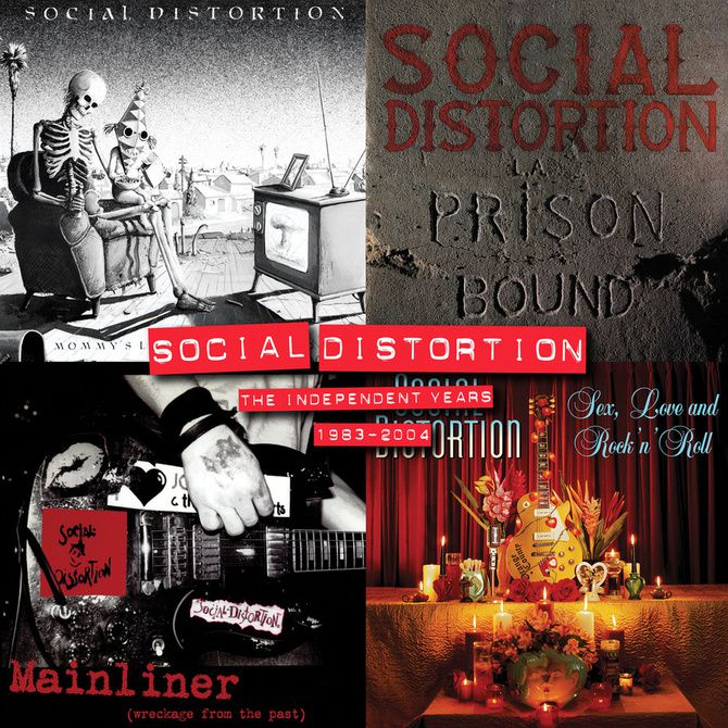 SOCIAL DISTORTION releases a 4 LP-boxset