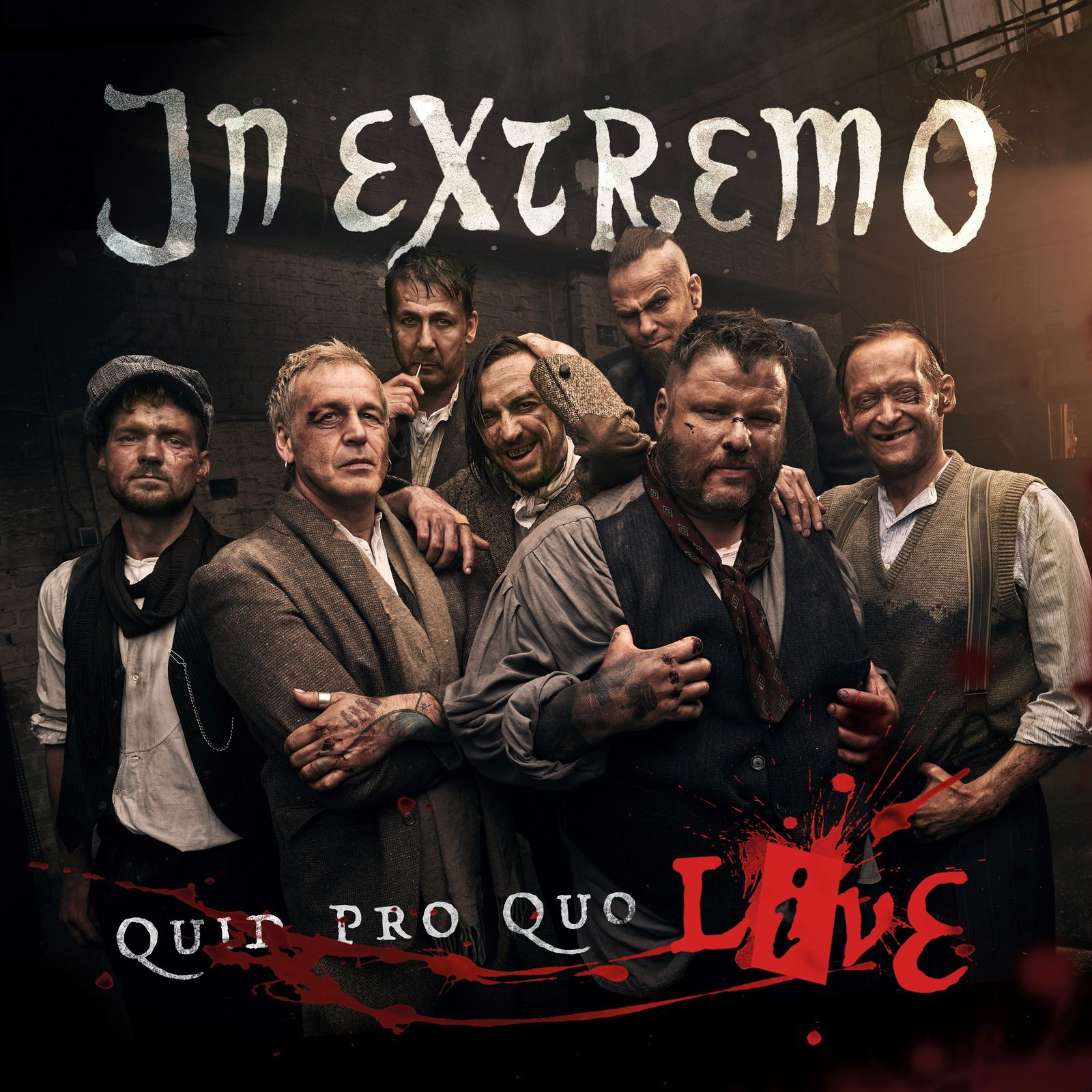 CD review IN EXTREMO &quot&#x3B;Quid Pro Quo Live&quot&#x3B;