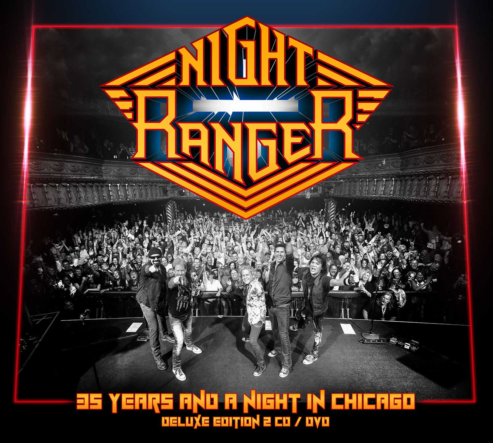 "CD review NIGHT RANGER ""35 Years and a Night in Chicago"""