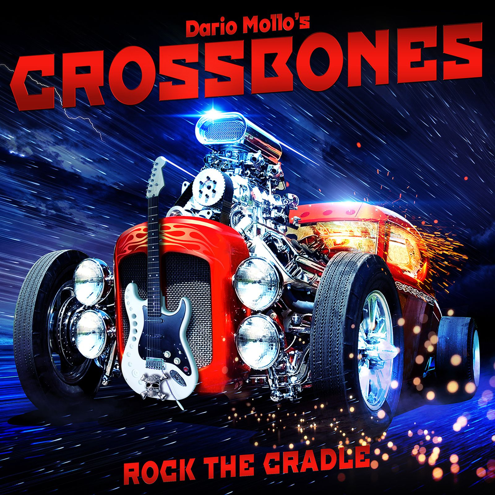 CD review DARIO MOLLO'S CROSSBONES &quot&#x3B;Rock the Cradle&quot&#x3B;
