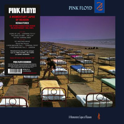 PINK FLOYD's &quot&#x3B;The Final Cut&quot&#x3B; and &quot&#x3B;A Momentary Lapse of Reasons&quot&#x3B; on vinyl