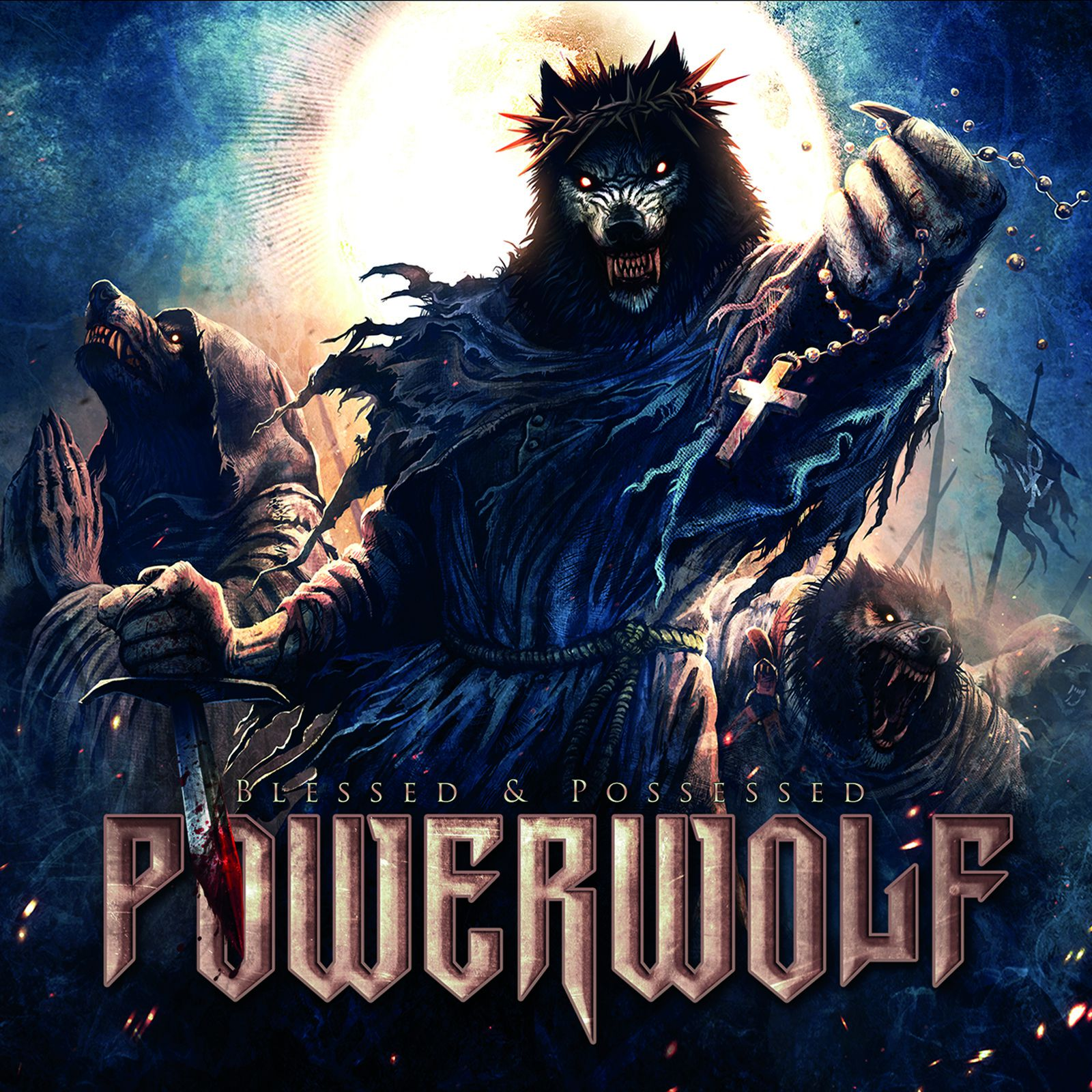 CD review POWERWOLF &quot&#x3B;Blessed &amp&#x3B; Possessed&quot&#x3B; Tour Edition