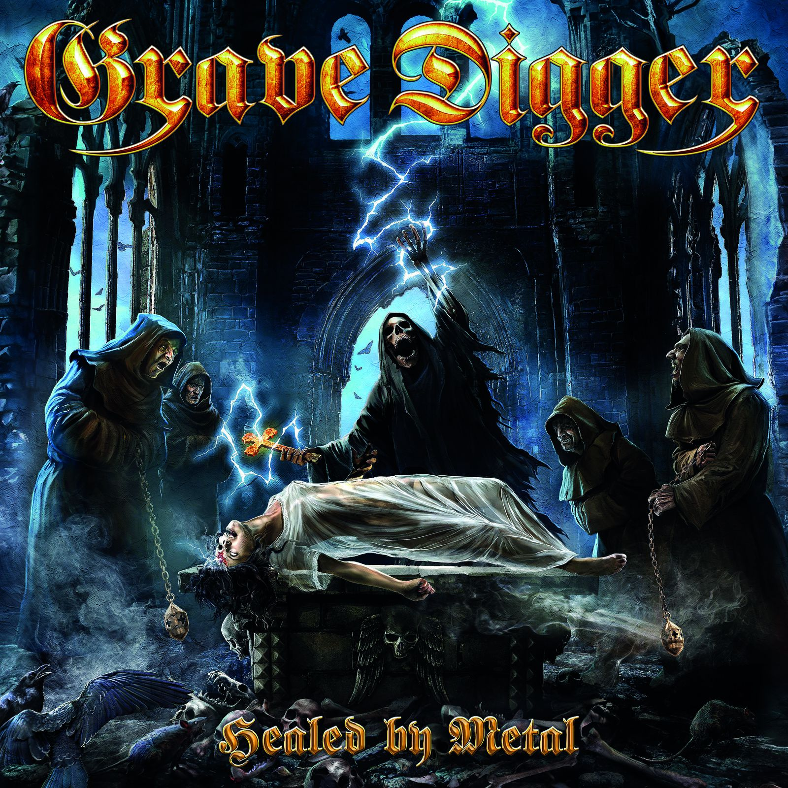 CD review GRAVE DIGGER &quot&#x3B;Healed by Metal&quot&#x3B;