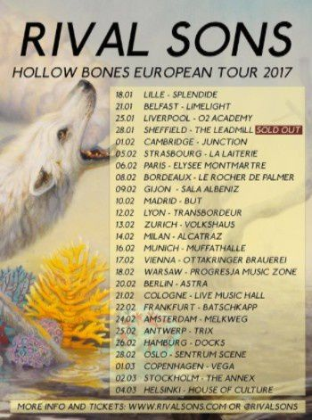 RIVAL SONS tour dates