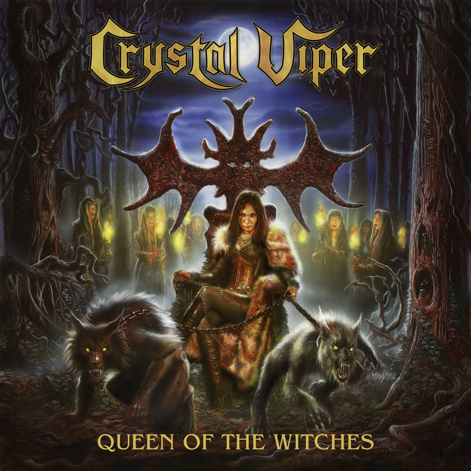 CD review CRYSTAL VIPER &quot&#x3B;Queen of the Witches&quot&#x3B;