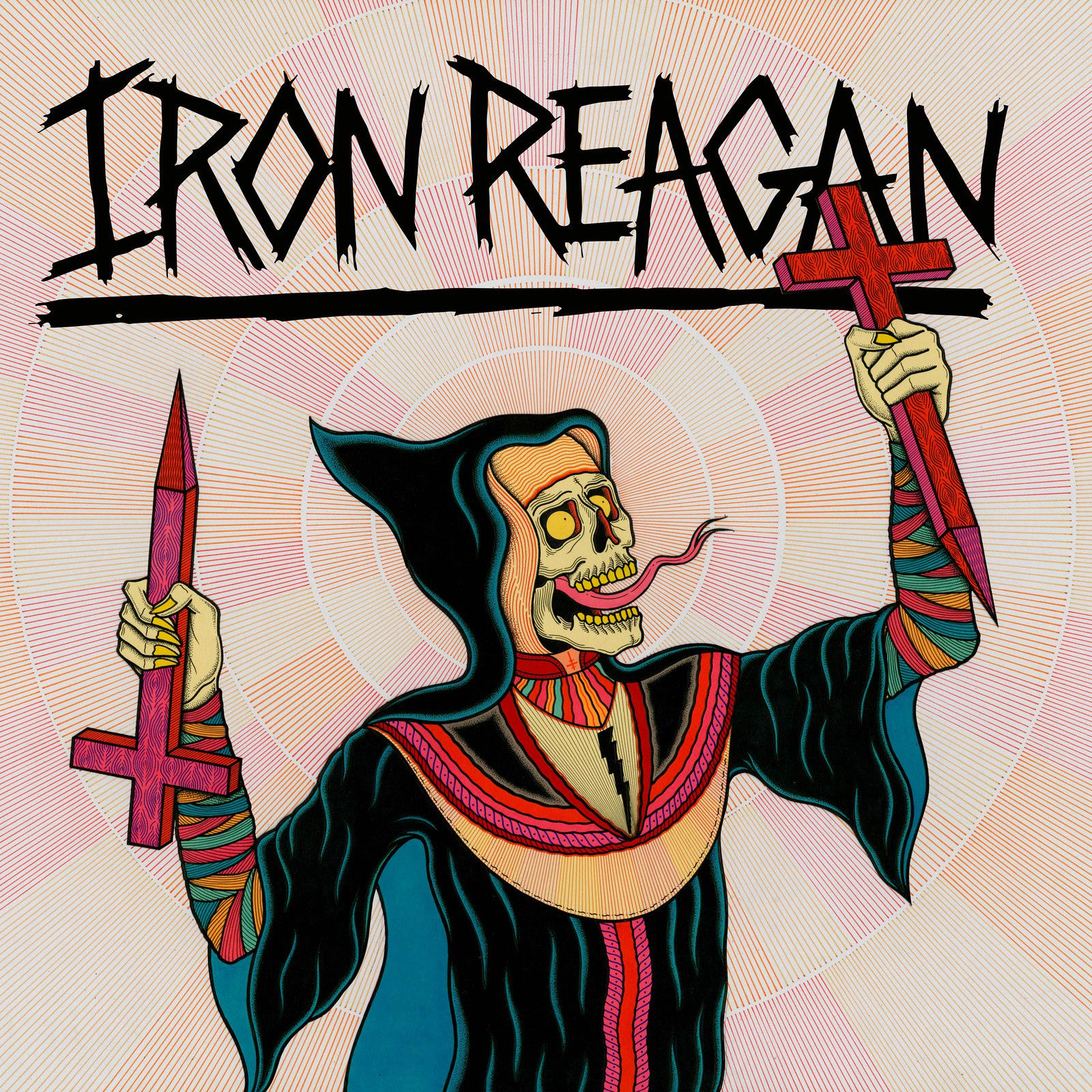 CD review IRON REAGAN &quot&#x3B;Crossover Ministry&quot&#x3B;