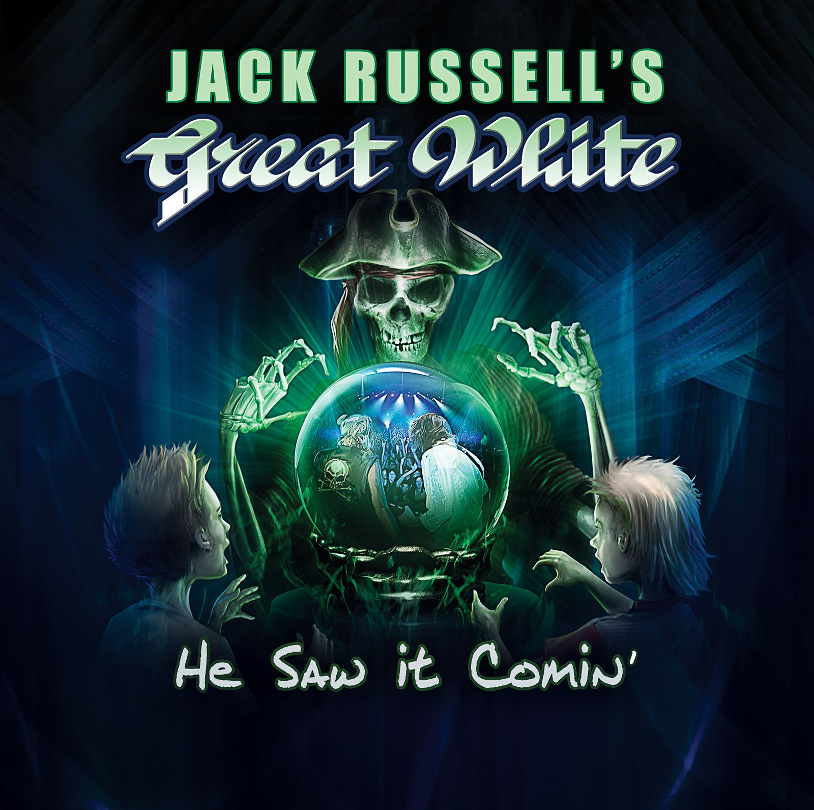 CD review JACK RUSSELL'S GREAT WHITE &quot&#x3B; He Saw it Comin'&quot&#x3B;