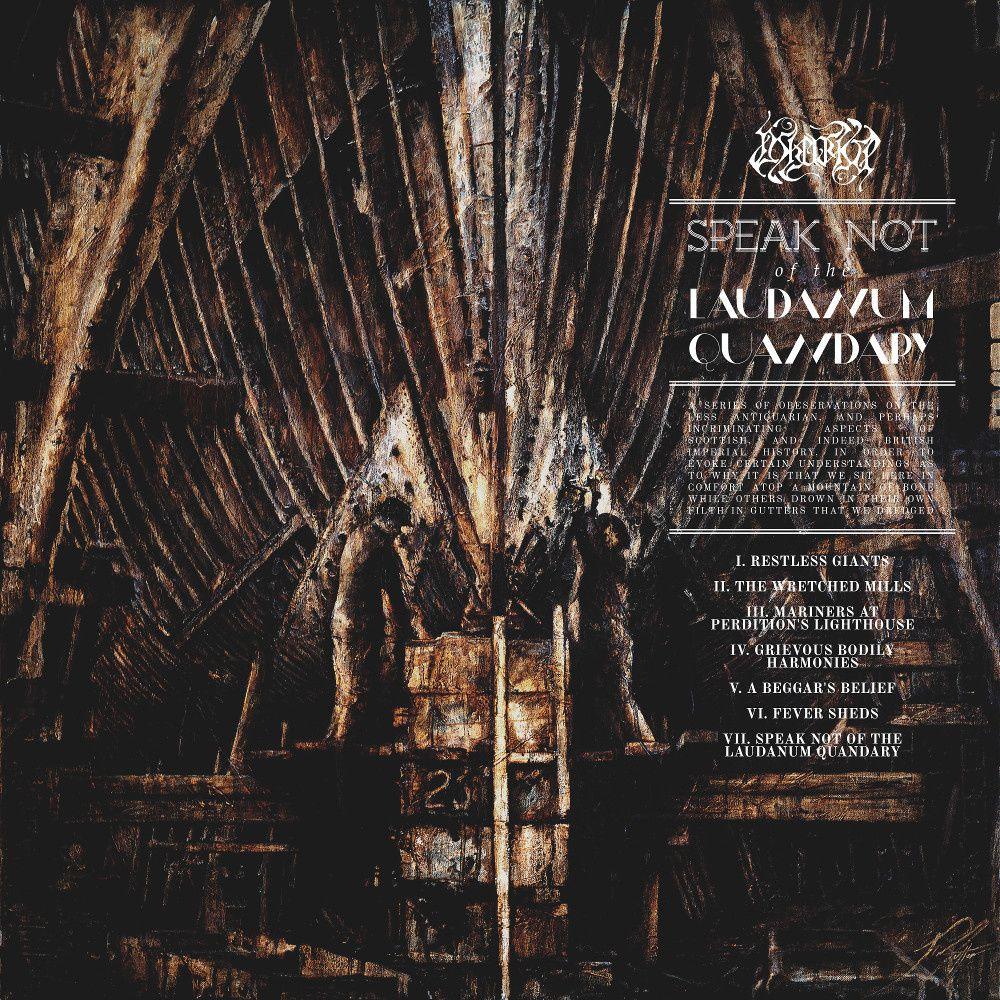 "CD review ASHENSPIRE ""Speak not of the Laudanum Quandary"""