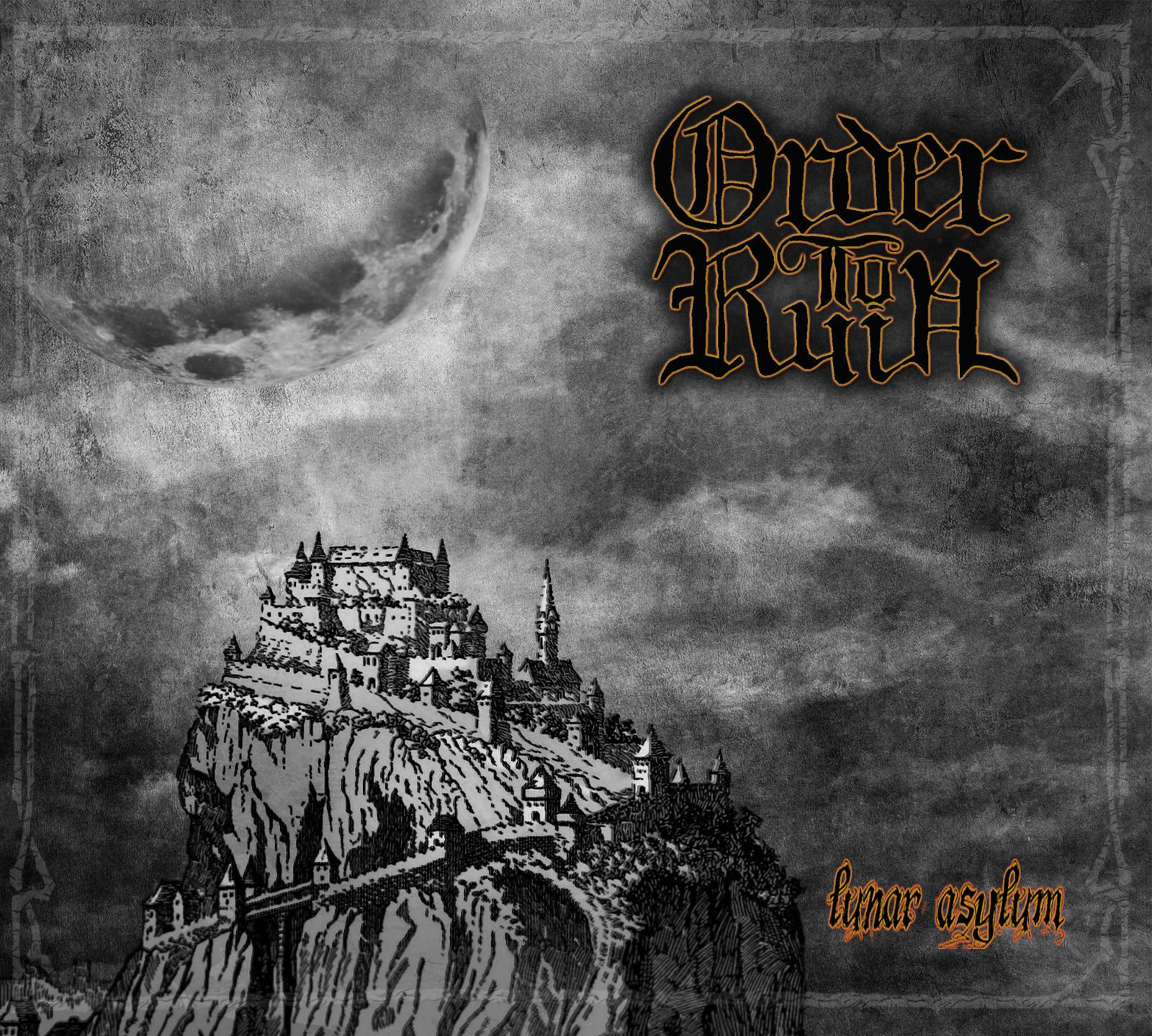 CD review ORDER TO RUIN &quot&#x3B;Lunar Asylum&quot&#x3B;