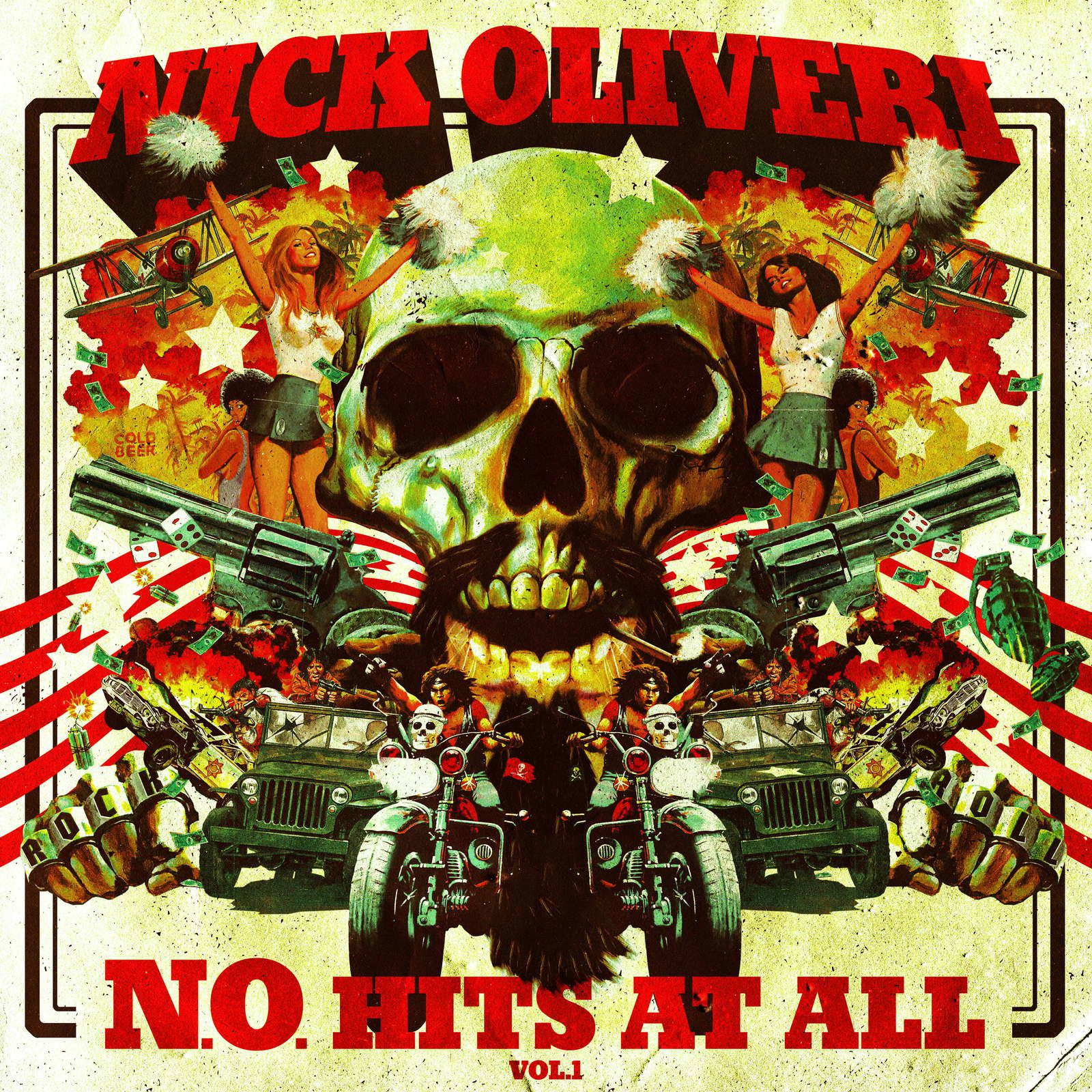 CD review NICK OLIVERI &quot&#x3B;N.O. Hits at All - Volume one&quot&#x3B;