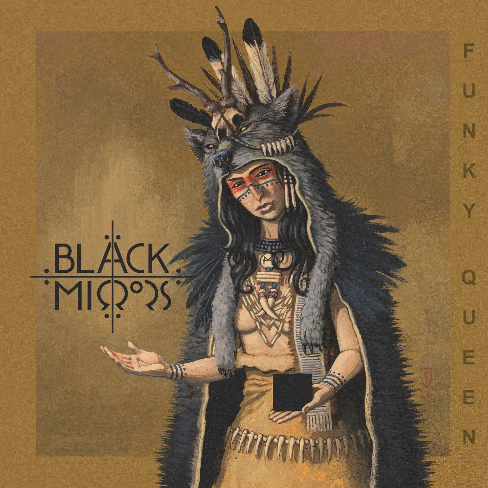 CD review BLACK MIRRORS &quot&#x3B;Funky Queen&quot&#x3B;